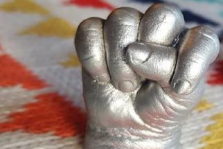 BABY HAND CASTING